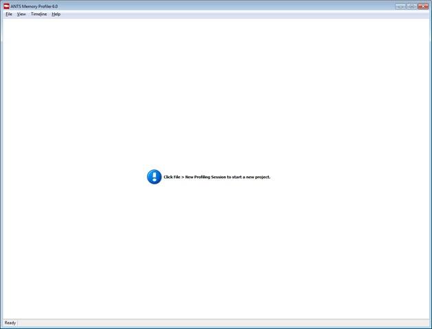 ANTS-Memory-Profiler-Screenshots-Homescreen
